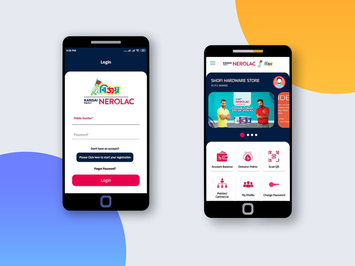 Nerolac Bijoy App